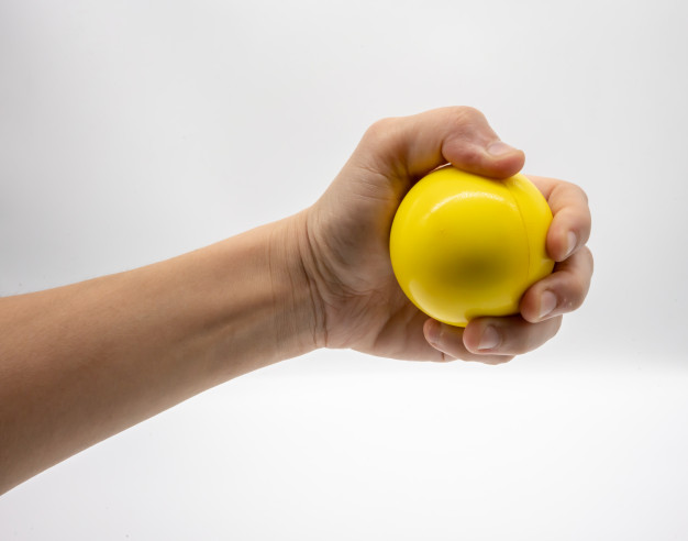 Squeeze Ball Technique to Eliminate Anxiety